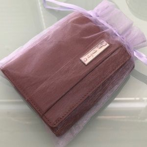 Agnes B Patent Bifold Wallet